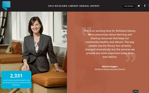 Richland Library Annual Report - Executive Director