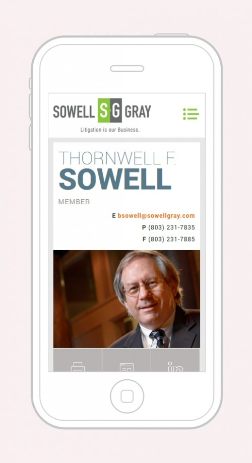 Sowell Gray - Attorney Mobile