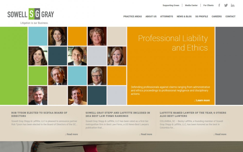 Sowell Gray - Homepage