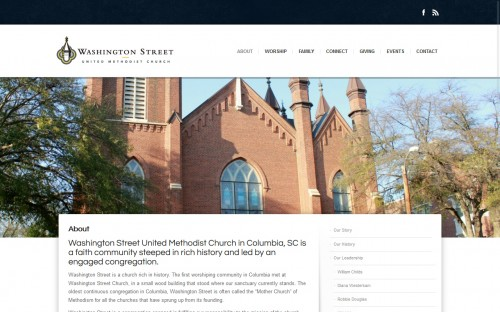 Washington Street Methodist Church - About