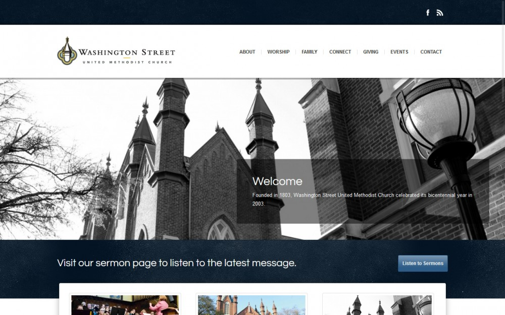 Washington Street Methodist Church - Homepage