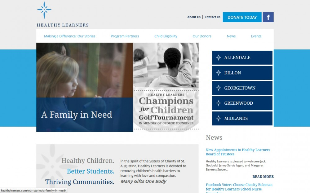 Healthy Learners - Homepage
