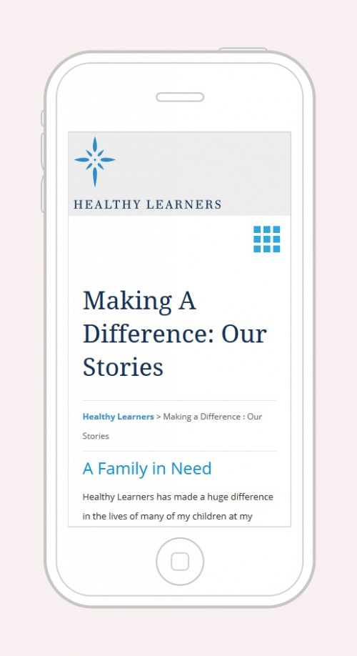 Healthy Learners - Mobile