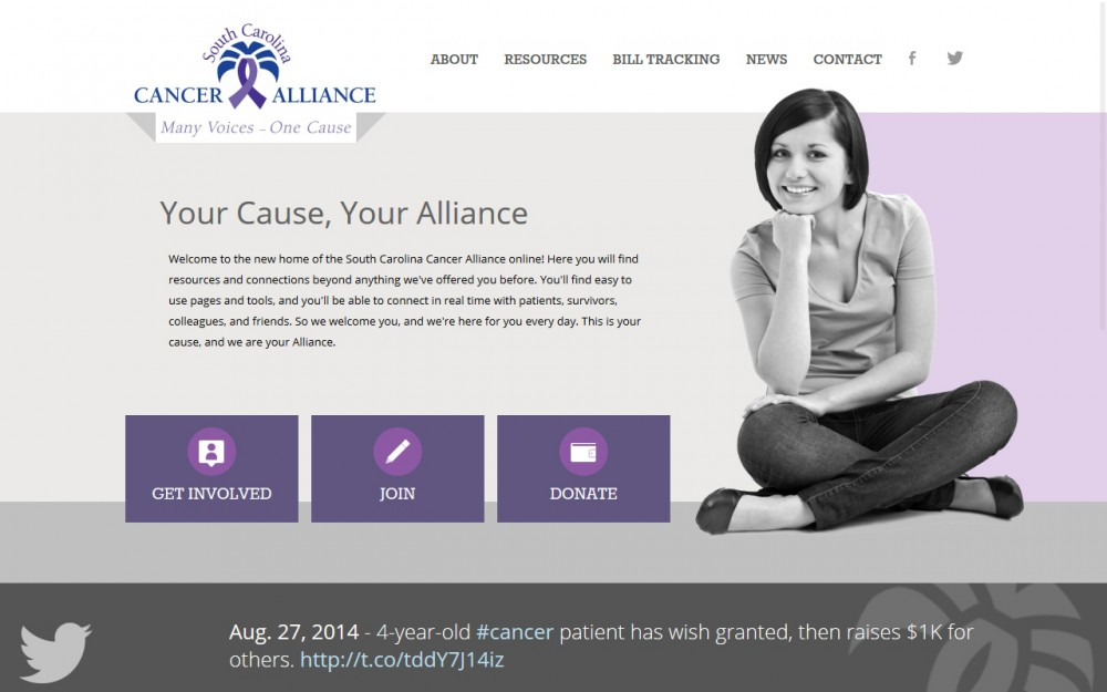 SC Cancer Alliance - Homepage