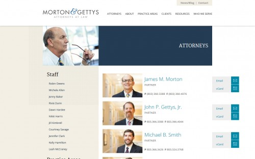 Morton and Gettys - Attorneys