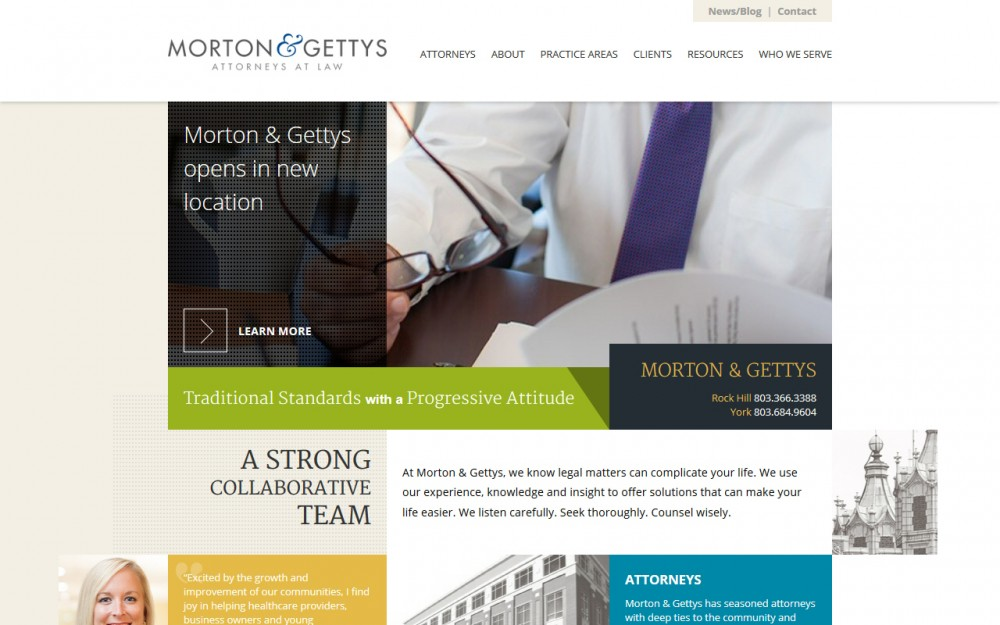 Morton and Gettys - Homepage